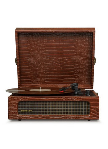 Voyager Portable Turntable - Brown
