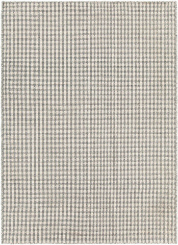 Crest Collection Hand-Woven Area Rug in Beige & Grey design by Chandra rugs