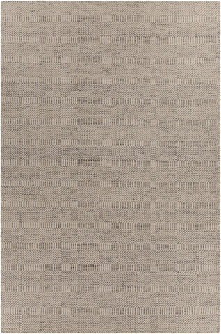 Crest Collection Hand-Woven Area Rug in Light Brown & Beige design by Chandra rugs