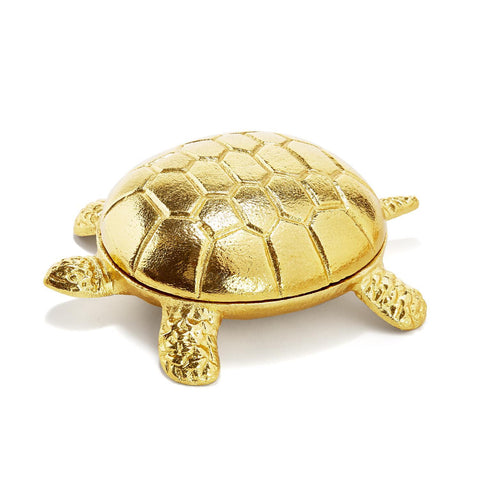 Golden Covered Turtle Box