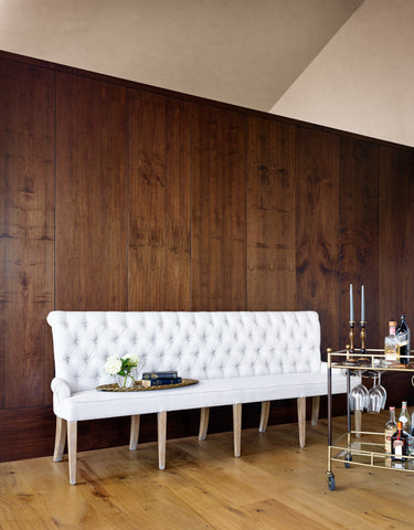 Banquette In Light Sand