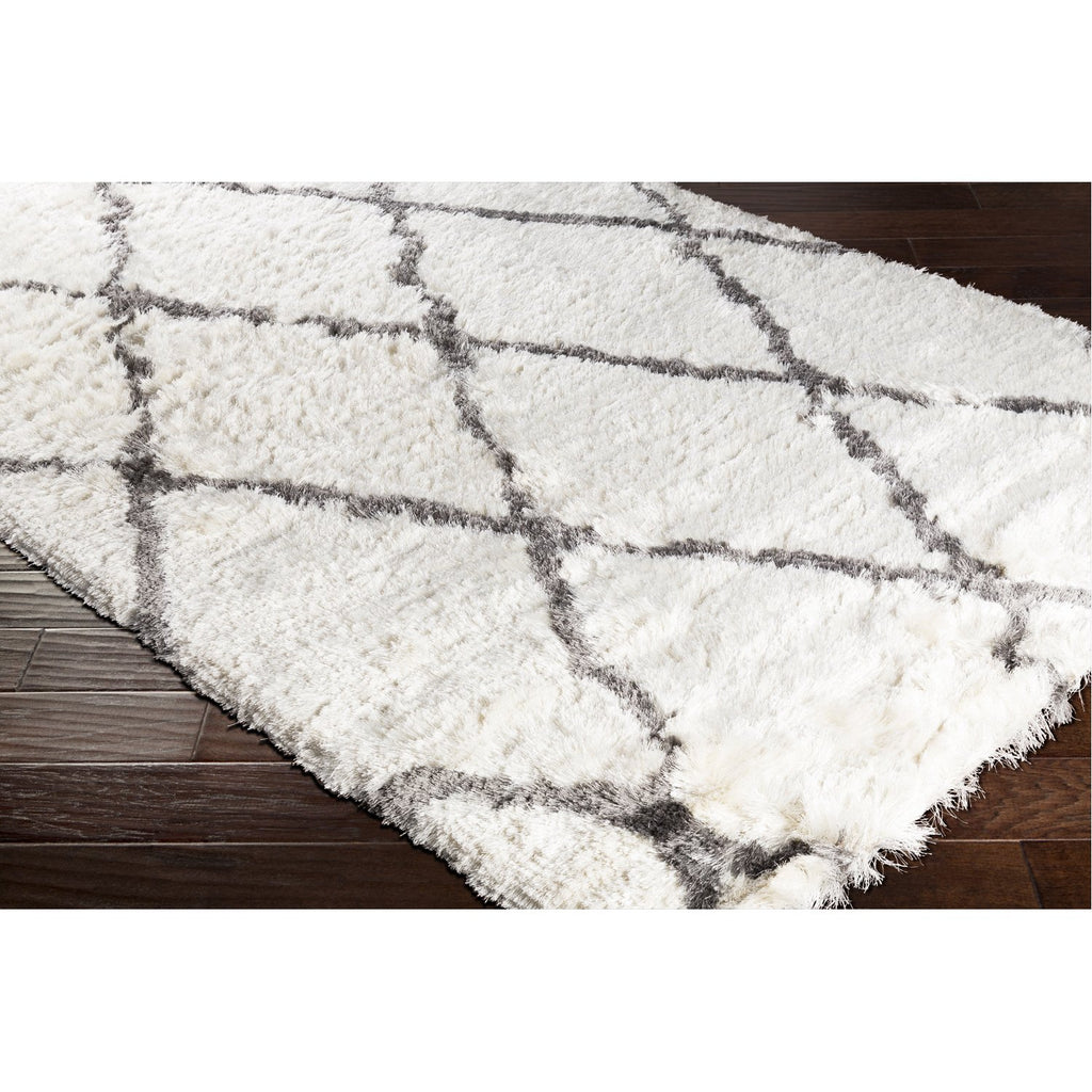 Corsair CSR-1000 Hand Tufted Rug in Cream & Light Gray by Surya