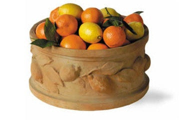 Citrus Tub in Terracotta Finish design by Capital Garden Products
