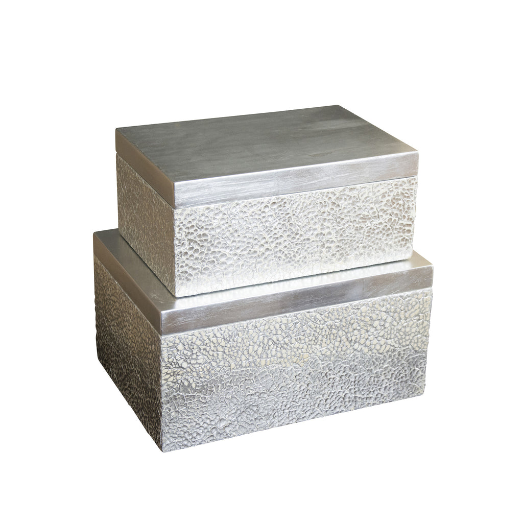Set of 2 Parker Rectangular Boxes design by Couture Lamps