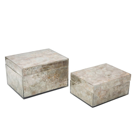 Set of 2 Emerson Boxes by Couture Lamps