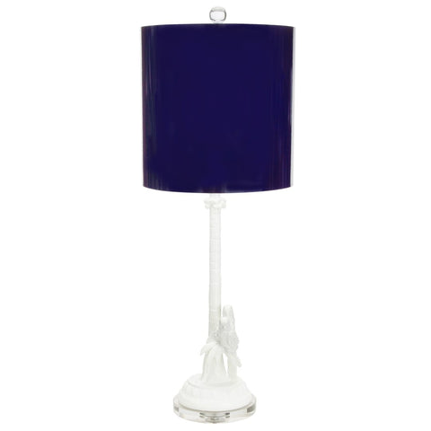 Parrot + Palm Table Lamp by Couture Lamps