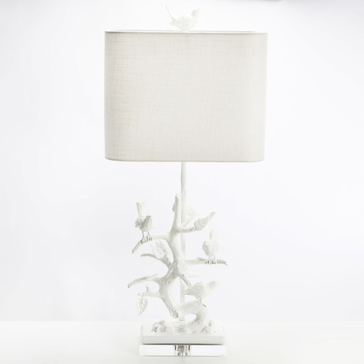 Bird On Branch Table Lamp Design By Couture Lamps Burke Decor