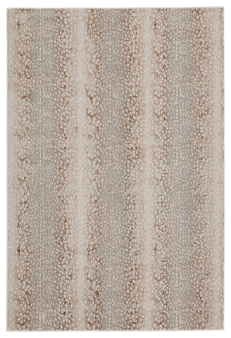 Axis Animal Light Grey & Brown Rug by Jaipur Living