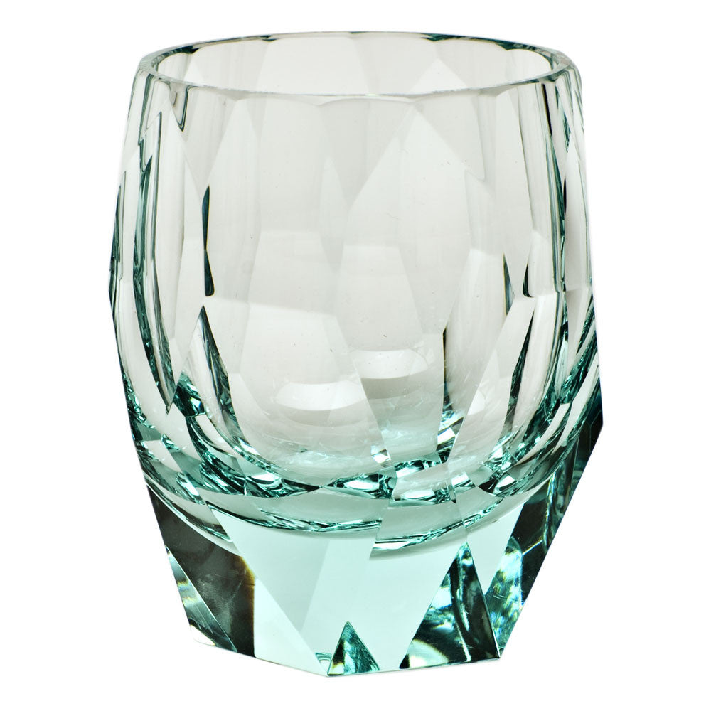 Cubism Double Old Fashioned Glass in Various Colors design
