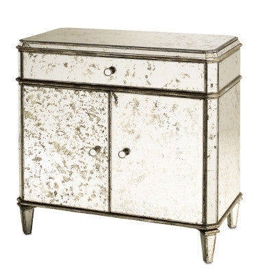 Antiqued Mirror Sideboard design by Currey & Company