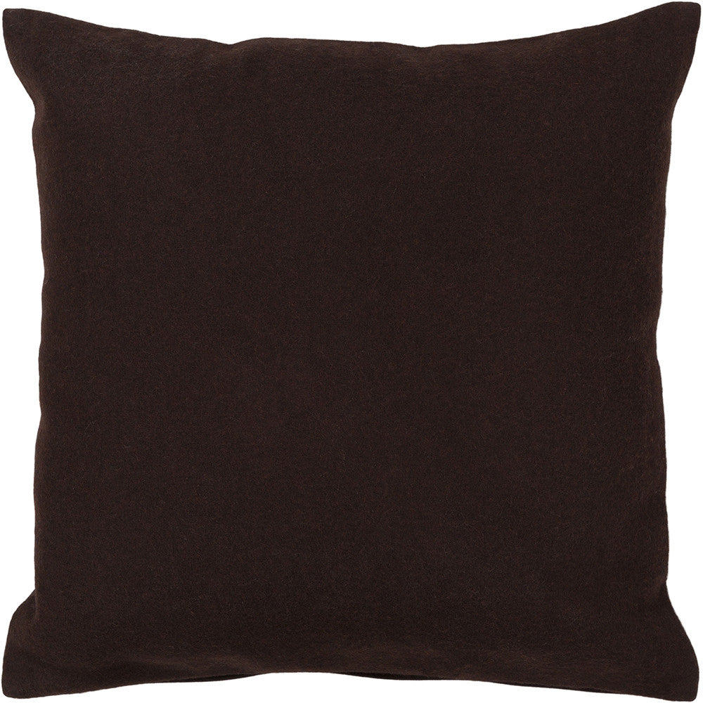 Wool Pillow in Brown design by Chandra rugs
