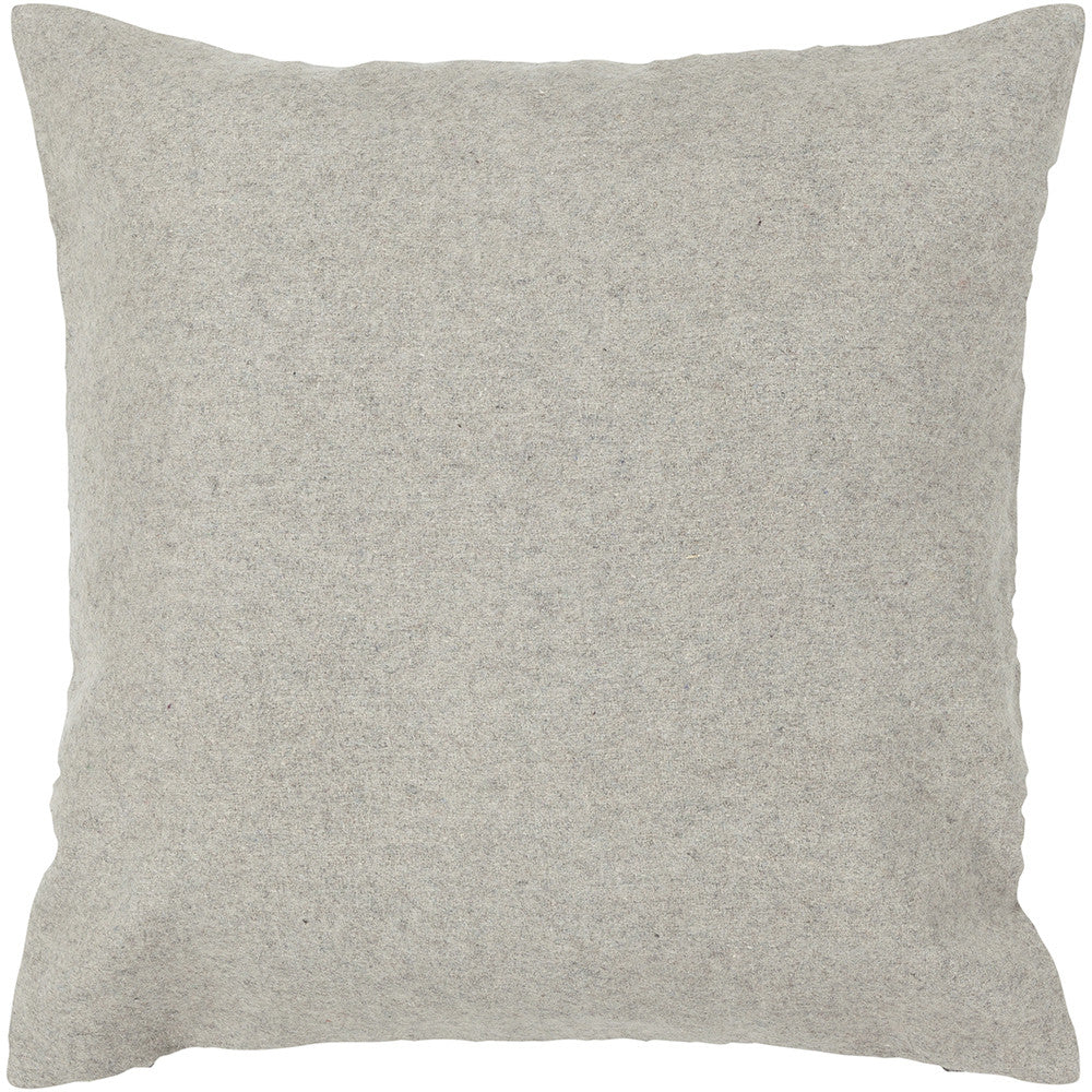 Wool Pillow in Grey design by Chandra rugs