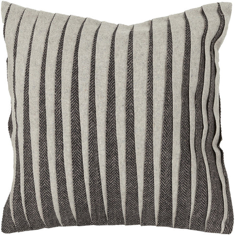 Wool Pillow in Grey