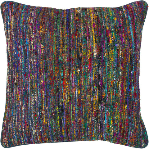 Silk Pillow in Multi Color design by Chandra rugs