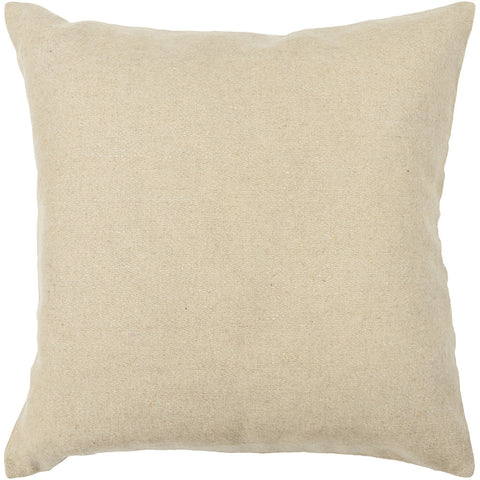 Wool Pillow in Beige design by Chandra rugs