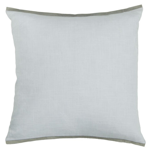 Handmade Contemporary Pillow, White design by Chandra Rugs