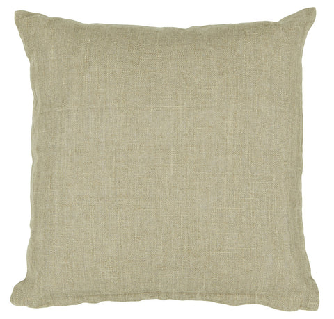 Linen Pillow in Natural design by Chandra rugs