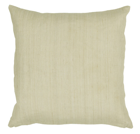 Tussar Silk Pillow in Natural design by Chandra rugs