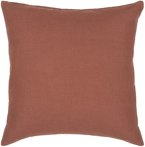 Cotton Pillow in Rust