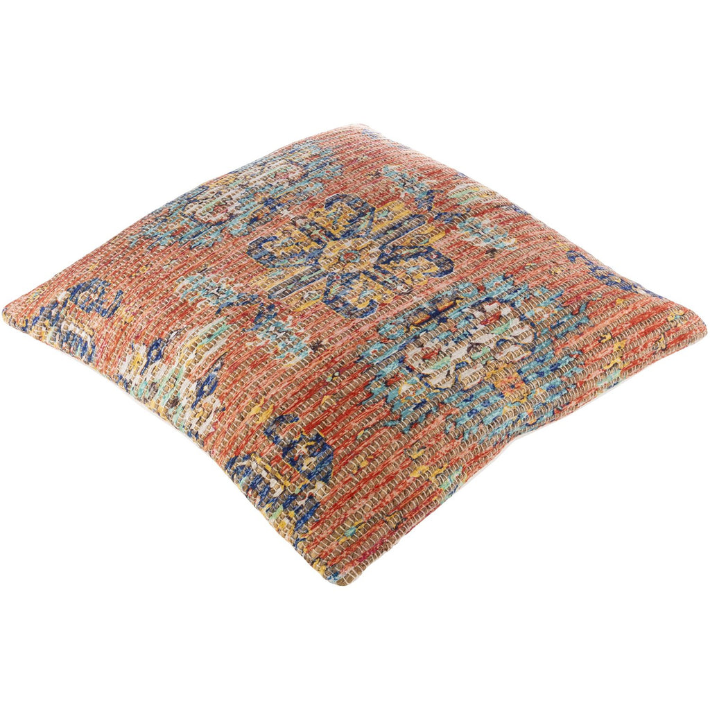 Coventry CVN-006 Woven Pillow in Terracotta & Saffron by Surya