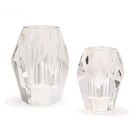 Facets Set of 2 Vases