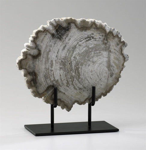 Petrified Wood Sculptural design by Cyan Design
