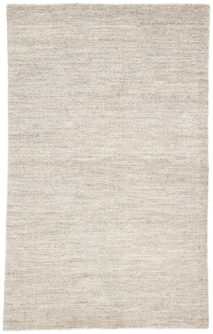 Beecher Solid Rug in Silver Lining & Goat design by Jaipur