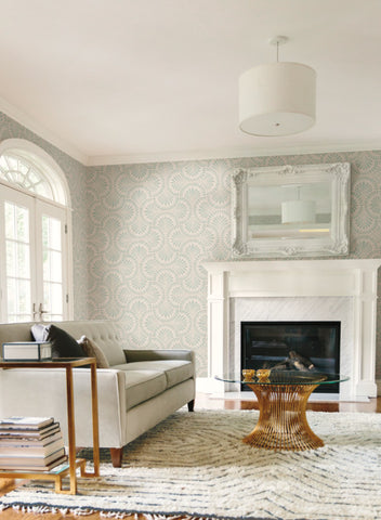 Cabaret Wallpaper in from the Deco Collection by Antonina Vella for York Wallcoverings
