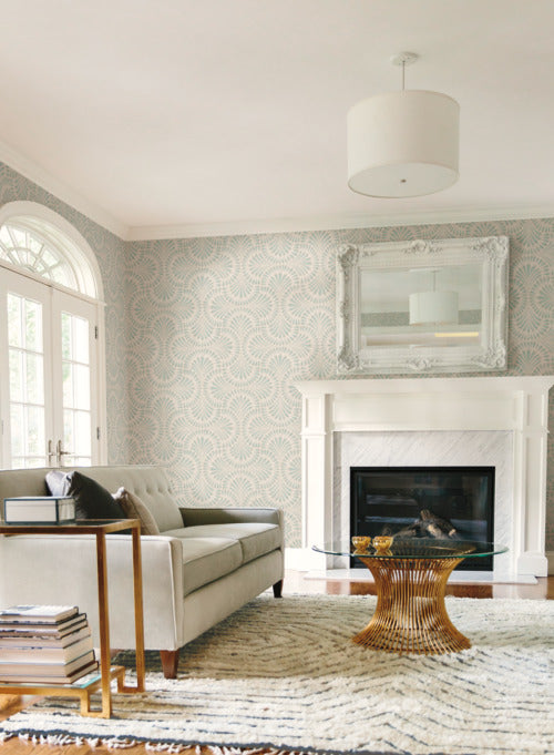 Cabaret Wallpaper from the Deco Collection by Antonina Vella for York Wallcoverings
