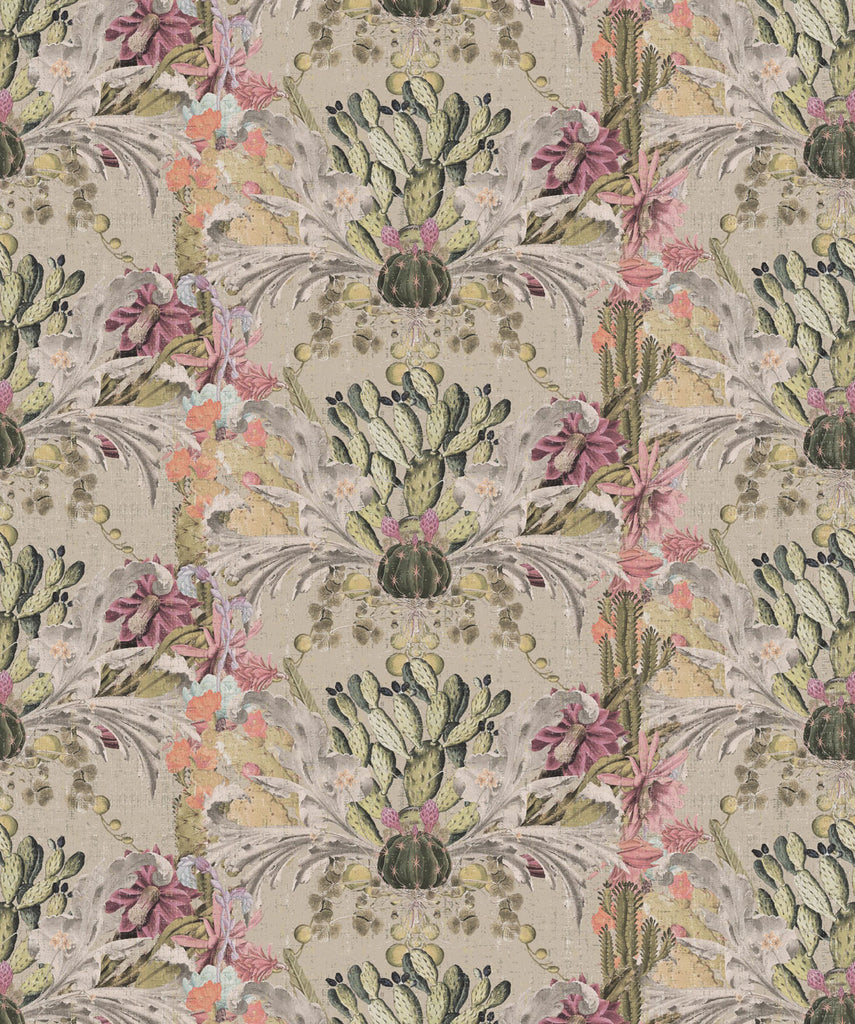 Sample Cactus Wallpaper in Arena by Simcox Designs for Milton & King