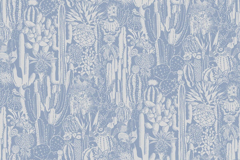 Cactus Spirit Wallpaper in Peri by Aimee Wilder