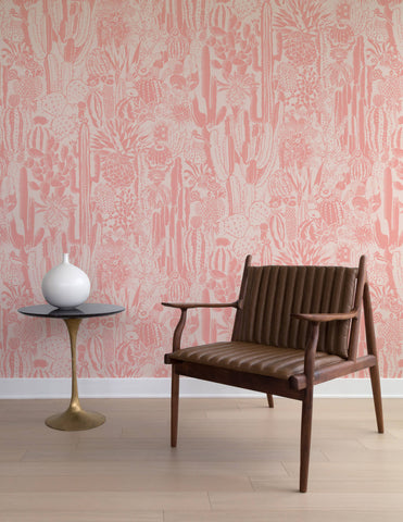 Cactus Spirit Wallpaper in Splendid design by Aimee Wilder