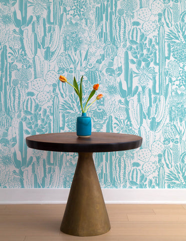 Cactus Spirit Wallpaper in Tequila design by Aimee Wilder