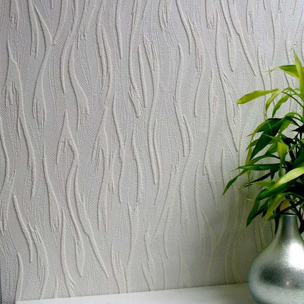 Caiger Paintable Textured Wallpaper design by Brewster Home Fashions