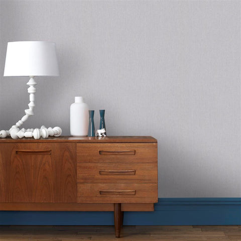 Calico Wallpaper in Grey from the Innocence Collection by Graham & Brown