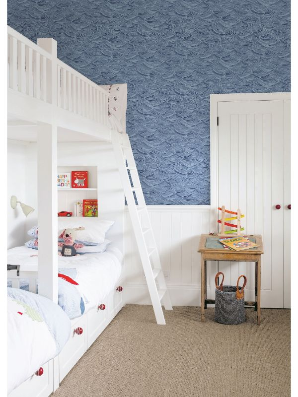 Calm Seas Wallpaper from the Day Dreamers Collection by Seabrook Wallcoverings