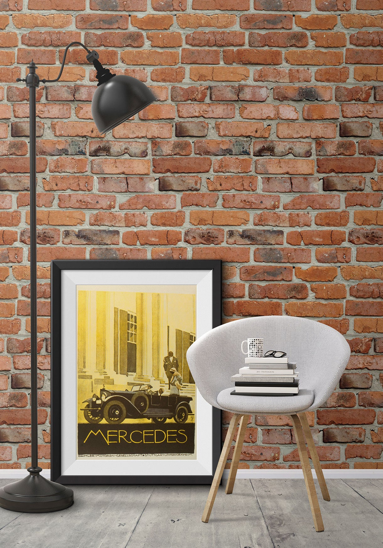 Camden Factory Bricks Wallpaper Design By Milton Amp King