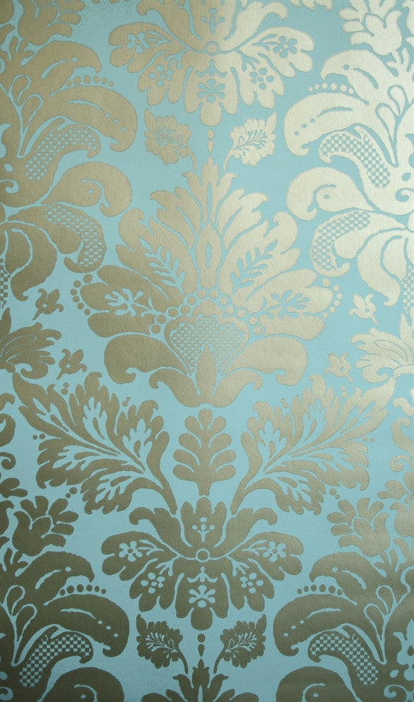 Campbell Damask Wallpaper 01 by Nina Campbell for Osborne & Little