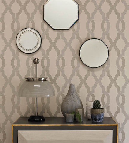 Cannetille Wallpaper from the Cabochon Collection by Osborne & Little
