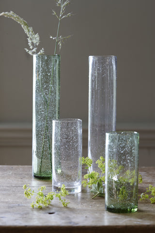 Set of 4 Solano Vases in Various Sizes design by Canvas