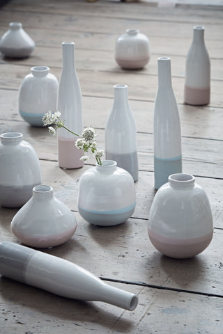Small Morandi Bottle Vase in Various Colors design by Canvas