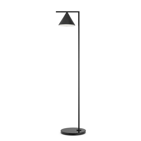 Captain Flint Steel Floor Lighting in Various Colors & Sizes