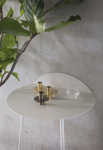 Yeh Low Wall Table in White design by Menu