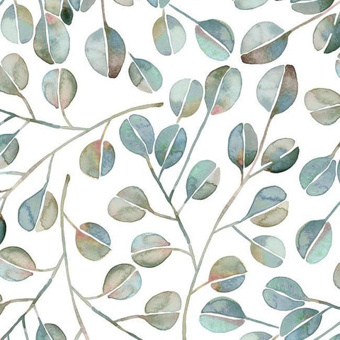 Cat Coquillette Eucalyptus Peel & Stick Wallpaper in Jade by RoomMates for York Wallcoverings