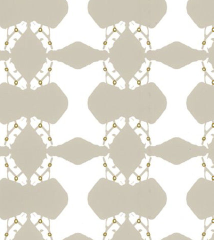 Cavalry Wallpaper in Sand Gray design by Cavern Home
