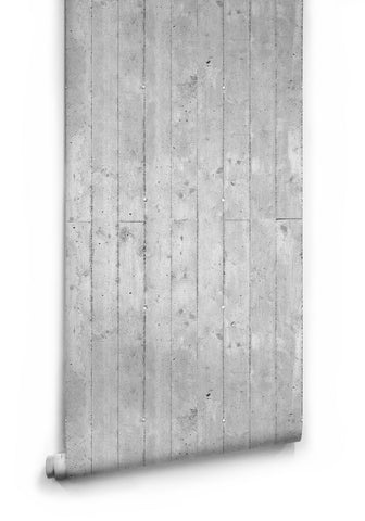 Cement Paneling Boutique Faux Wallpaper design by Milton & King