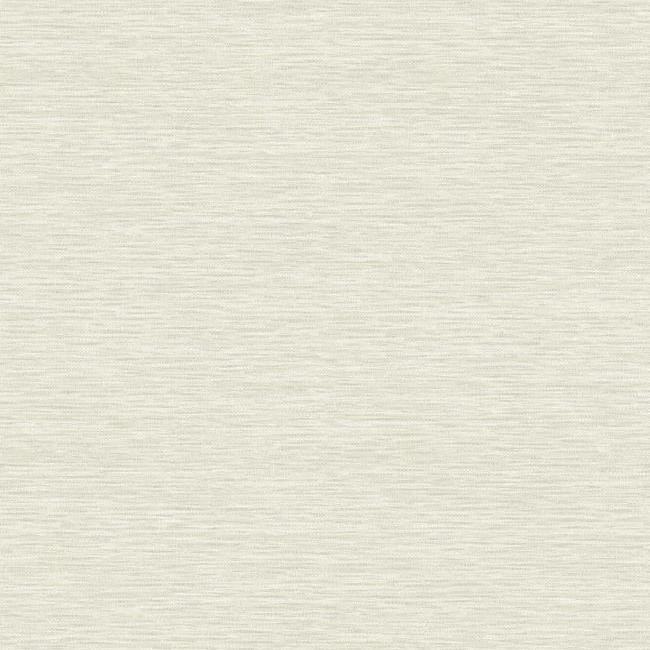 Sample Challis Woven Wallpaper in Ivory from the Impressionist Collection by York Wallcoverings