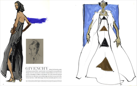 Drawing Fashion: The Art of Kenneth Paul Block by Pointed Leaf Press