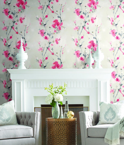 Charm Wallpaper from the Breathless Collection by Candice Olson for York Wallcoverings