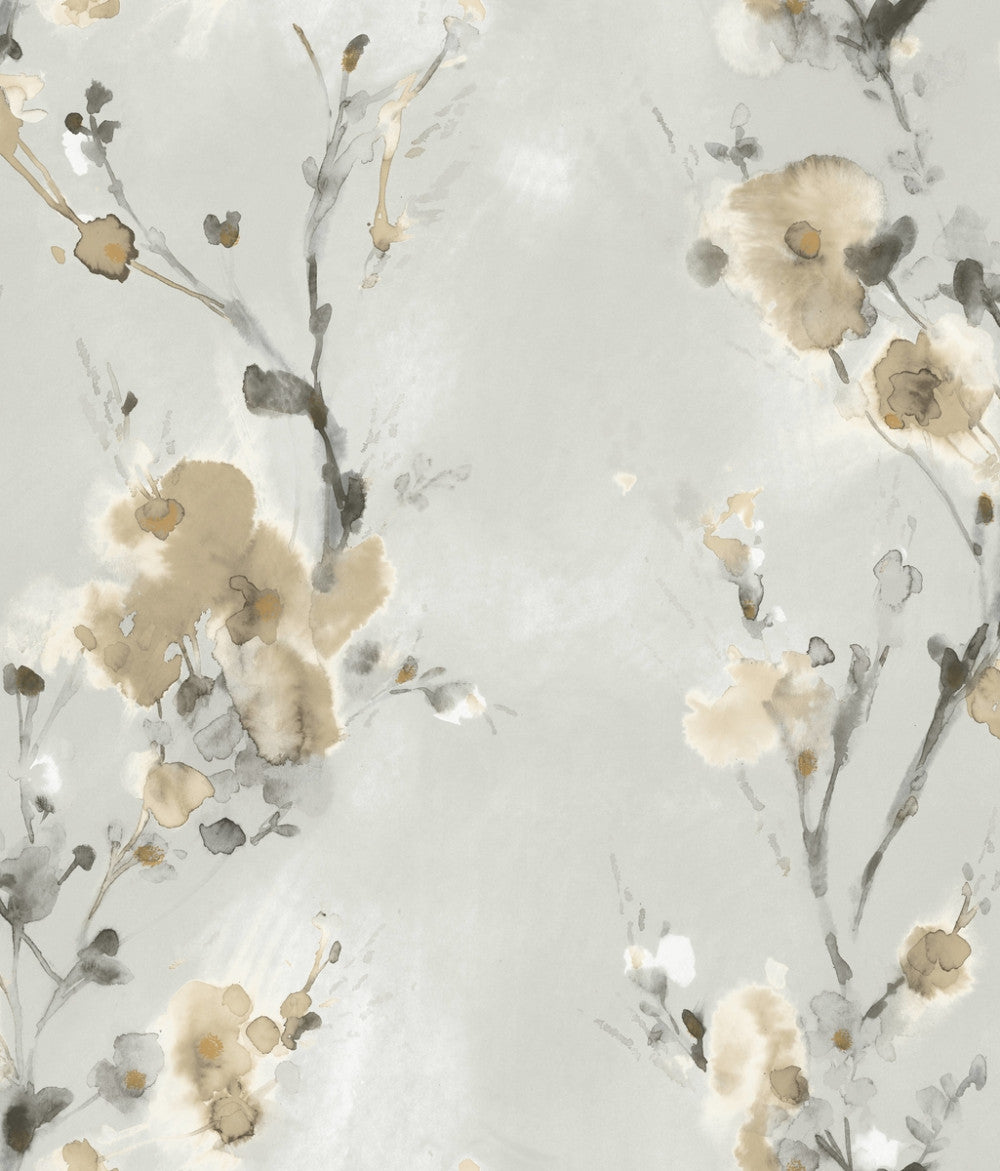 Charm Wallpaper In Neutral From The Breathless Collection By